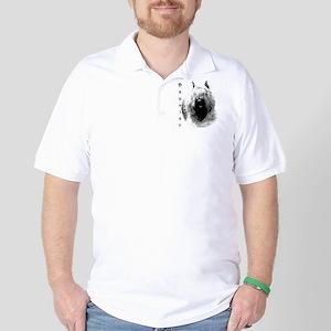 Bouvier Charcoal Golf Shirt