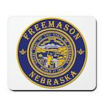 Nebraska Masons Mousepad