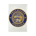 Nebraska Masons Rectangle Magnet