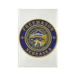 Nebraska Masons Rectangle Magnet (10 pack)
