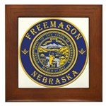 Nebraska Masons Framed Tile