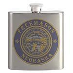 Nebraska Masons Flask