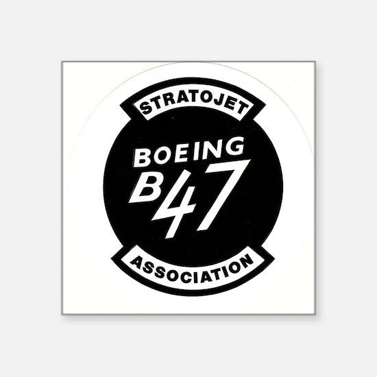 "B-47 STRATOJET ASSOCIATION LOGO Square Sticker 3"""