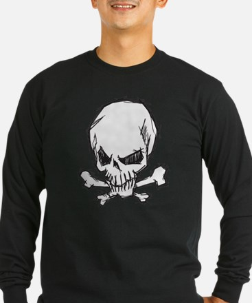 Skull and Bones Long Sleeve T-Shirt