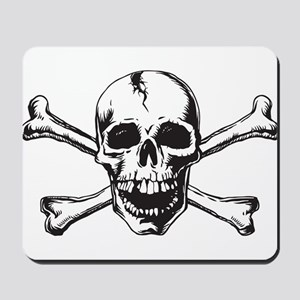 Skull and Bones Mousepad
