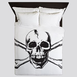 Skull and Bones Queen Duvet