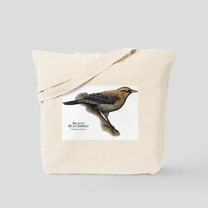 Rusty Blackbird Tote Bag
