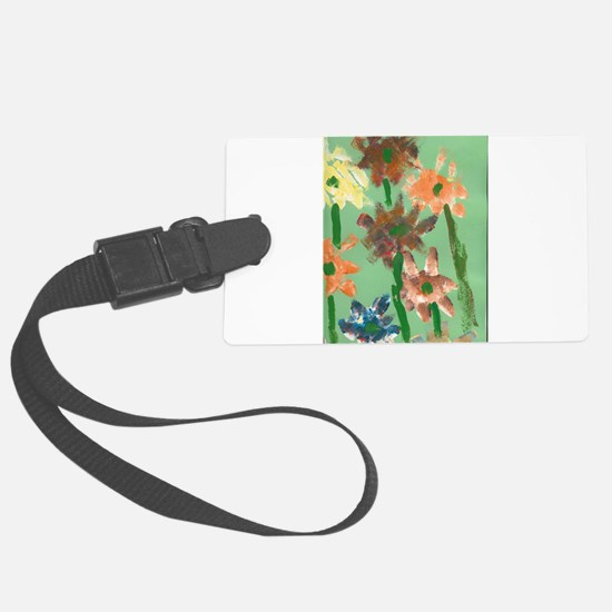 Christophers Flowers. Luggage Tag