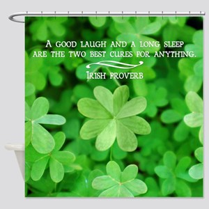 Irish Proverb Shower Curtain