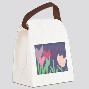 Christophers Tulips. Canvas Lunch Bag