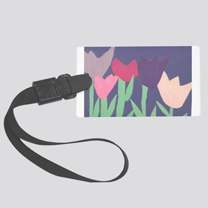 Christophers Tulips. Luggage Tag