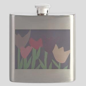 Christophers Tulips. Flask