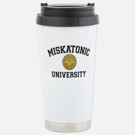 Miskatonic University - Stainless Steel Travel Mug