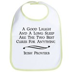 Irish Proverb Bib
