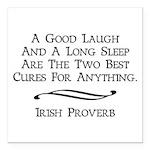 Irish Proverb Square Car Magnet 3