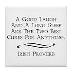Irish Proverb Tile Coaster