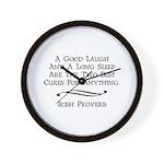 Irish Proverb Wall Clock