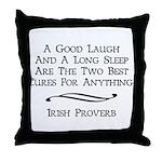 Irish Proverb Throw Pillow