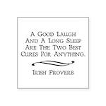 Irish Proverb Square Sticker 3