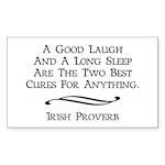 Irish Proverb Sticker (Rectangle)