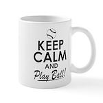 Keep Calm Play Ball Mug