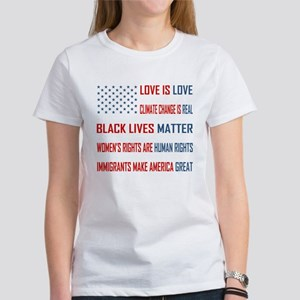 Love is Love Women's Classic White T-Shirt