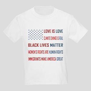 Love is Love Kids Light T-Shirt