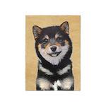 Shiba Inu (Black and Tan) 5'x7'Area Rug