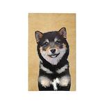 Shiba Inu (Black and Tan) Area Rug