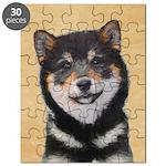 Shiba Inu (Black and Tan) Puzzle