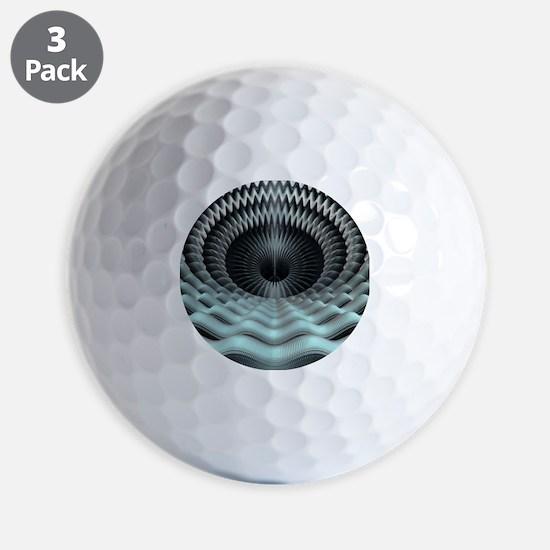 Mandelbulb fractal - Golf Ball