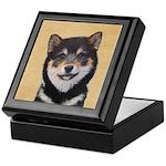 Shiba Inu (Black and Tan) Keepsake Box
