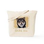 Shiba Inu (Black and Tan) Tote Bag