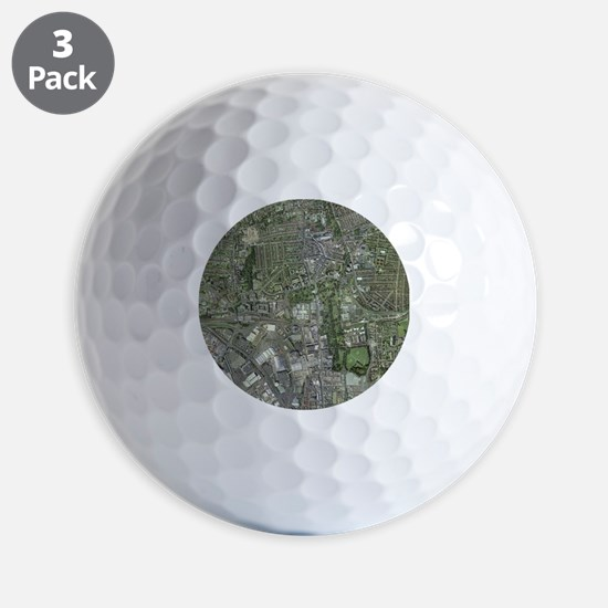 Southampton,UK, aerial image - Golf Ball