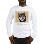 Shiba Inu (Black and Tan) Long Sleeve T-Shirt