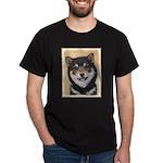 Shiba Inu (Black and Tan) Dark T-Shirt