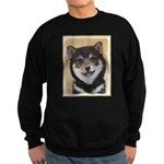 Shiba Inu (Black and Tan) Sweatshirt (dark)