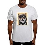 Shiba Inu (Black and Tan) Light T-Shirt