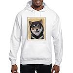 Shiba Inu (Black and Tan) Hooded Sweatshirt