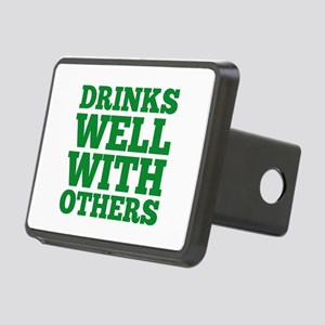 Drinks Well With Others Rectangular Hitch Cover
