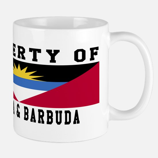 Property Of Antigua and Barbuda Mug
