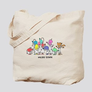 Micro Staph Tote Bag