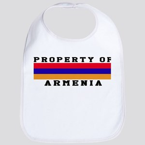 Property Of Armenia Bib