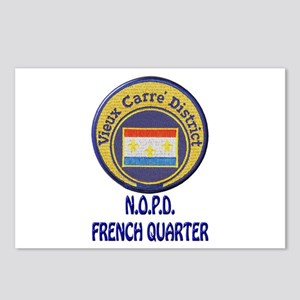 New Orleans Police French Quarter Postcards (Packa