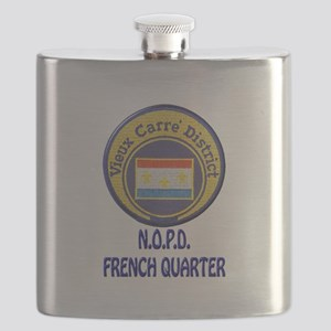 New Orleans Police French Quarter Flask