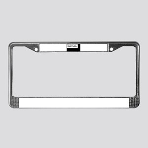 """Godless"" Ann  License Plate Frame"