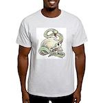 Rattle My Skull Ash Grey T-Shirt
