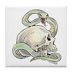 Rattle My Skull Tile Coaster