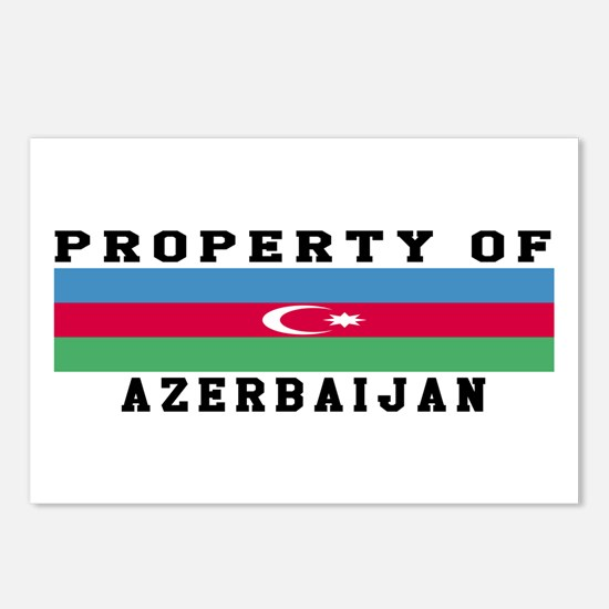 Property Of Azerbaijan Postcards (Package of 8)
