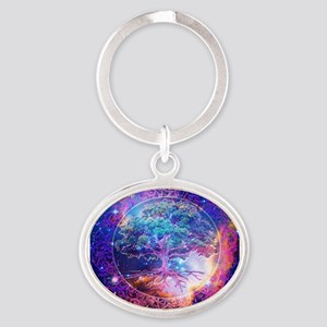 Miracle Oval Keychain